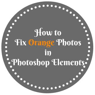 How to Fix Orange Photos in Photoshop Elements