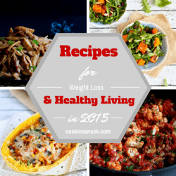 Recipes for Healthy Living & Weight Loss in 2015