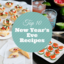 Top 10 Lightened-Up New Year's Eve Cocktail & Appetizer Recipes