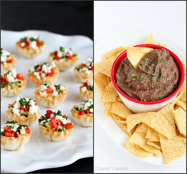 Healthy Super Bowl Appetizer Recipes | cookincanuck.com