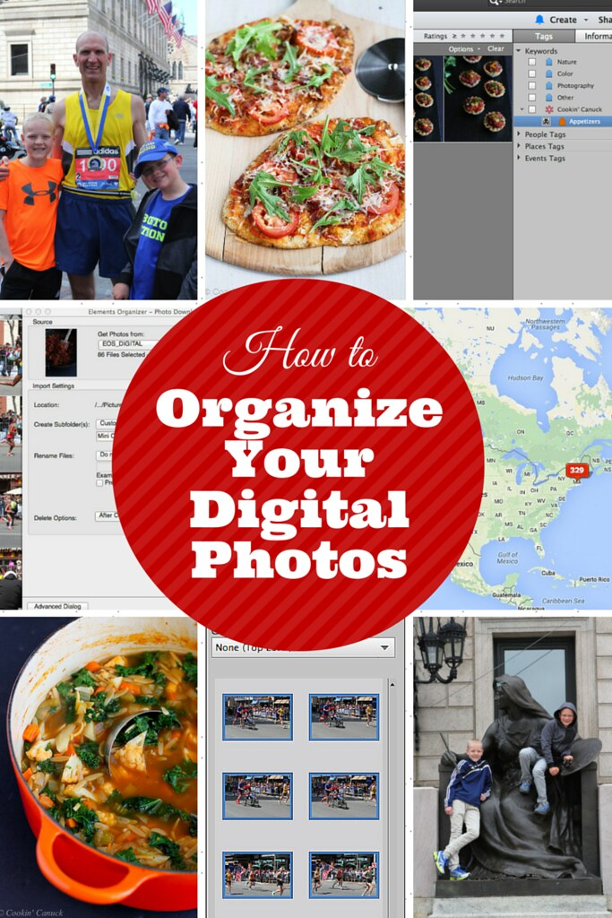 How to Organize Your Digital Photos...It is easier than you think!   cookincanuck.com #photography