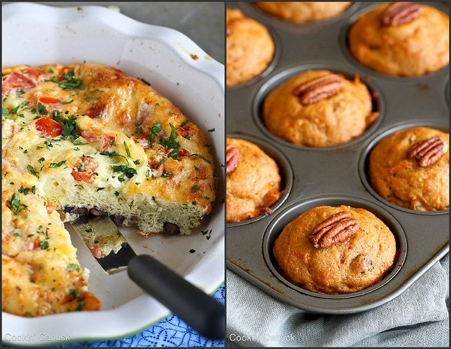 Healthy Breakfast Recipes Collage