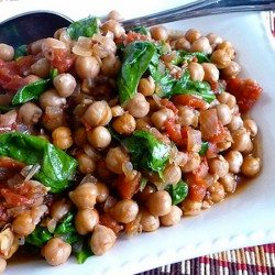 Crockpot Gingered Chickpea and Spicy Tomato Stew Recipe