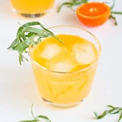 Clementine & Lemon Gin Cocktail