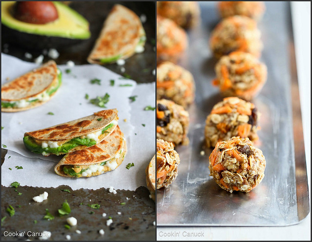 Healthy Snack Recipes | cookincanuck.com