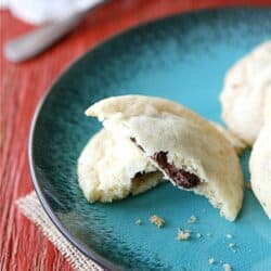 Nutella & Sea Salt Stuffed Sugar Cookie Recipe