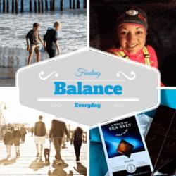 Finding Balance {Week 6 Challenge & Giveaway}
