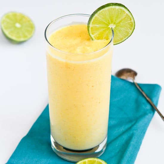 tropical mango pineapple smoothie recipe cookin 39 canuck. Black Bedroom Furniture Sets. Home Design Ideas