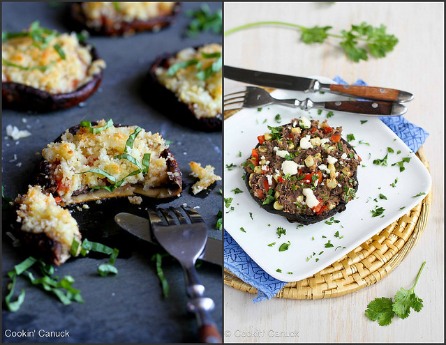 Healthy Portobello Mushroom Recipes | cookincanuck.com