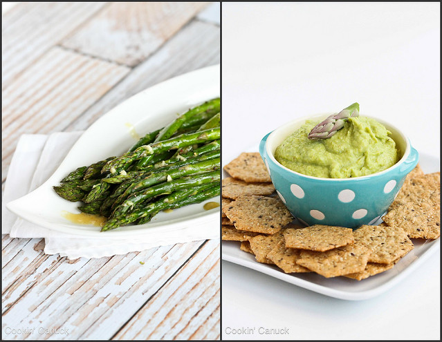Healthy Asparagus Recipes | cookincanuck.com #vegetarian