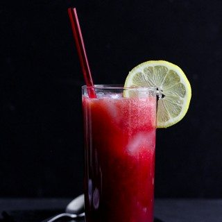 Tart Cherry & Peach Sparkler Recipe