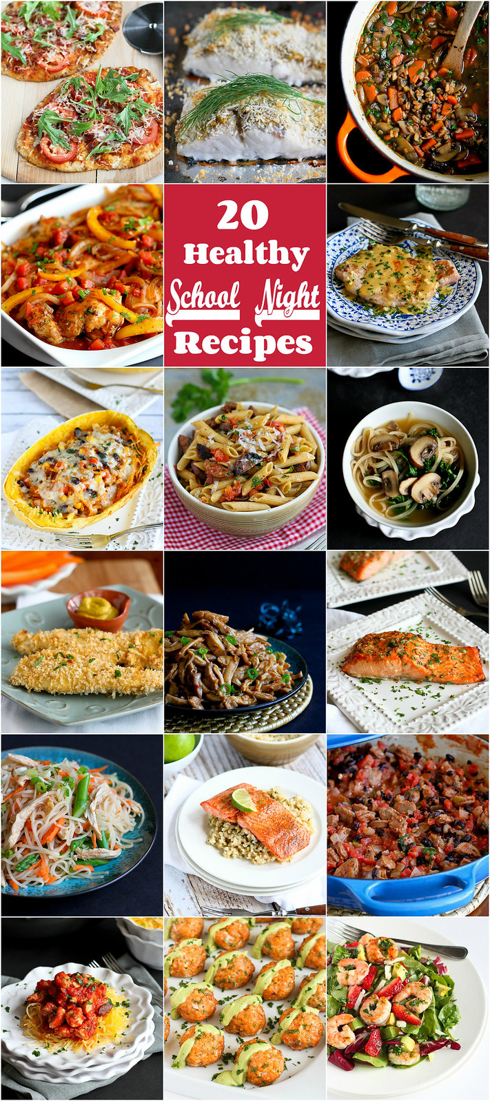 20 Healthy School Night Recipes | cookincanuck.com