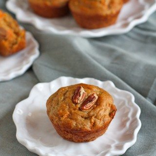 Whole Wheat Zucchini Carrot Muffins Recipe