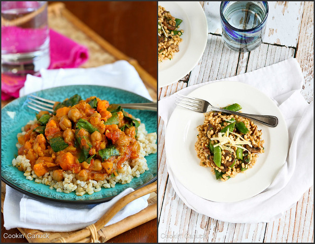 Healthy Vegetarian Dinner Recipes | cookincanuck.com