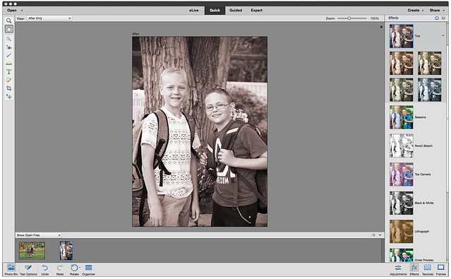 New Features of Photoshop Elements 14 & Premiere Elements 14 - Smart Looks (Quick Edits)