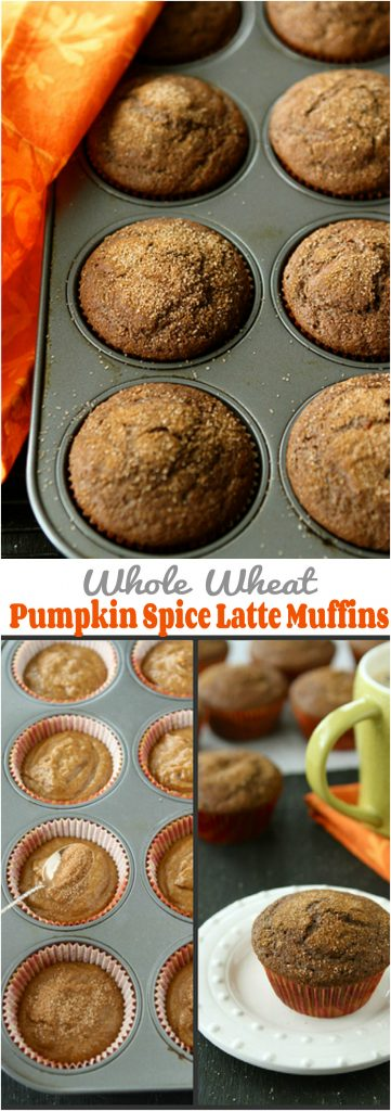 Whole Wheat Pumpkin Spice Latte Muffin Recipe