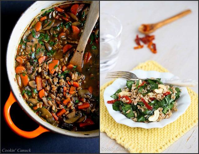 Healthy Farro Recipes | cookincanuck.com