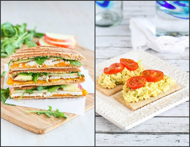 Light Lunch Recipes | cookincanuck.com #healthy