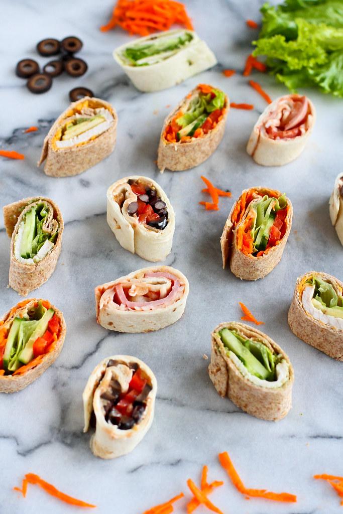 Lunchbox Ideas: 5 Pinwheel Sandwich Recipes | cookincanuck.com #healthy