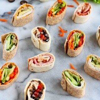 Lunchbox Ideas: 5 Pinwheel Sandwich Recipes