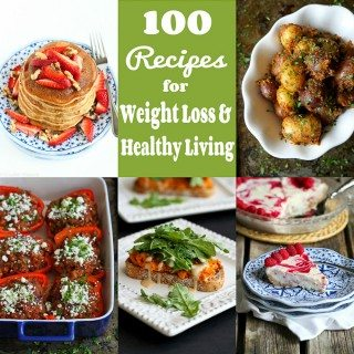 100 Recipes for Weight Loss & Healthy Living in 2016