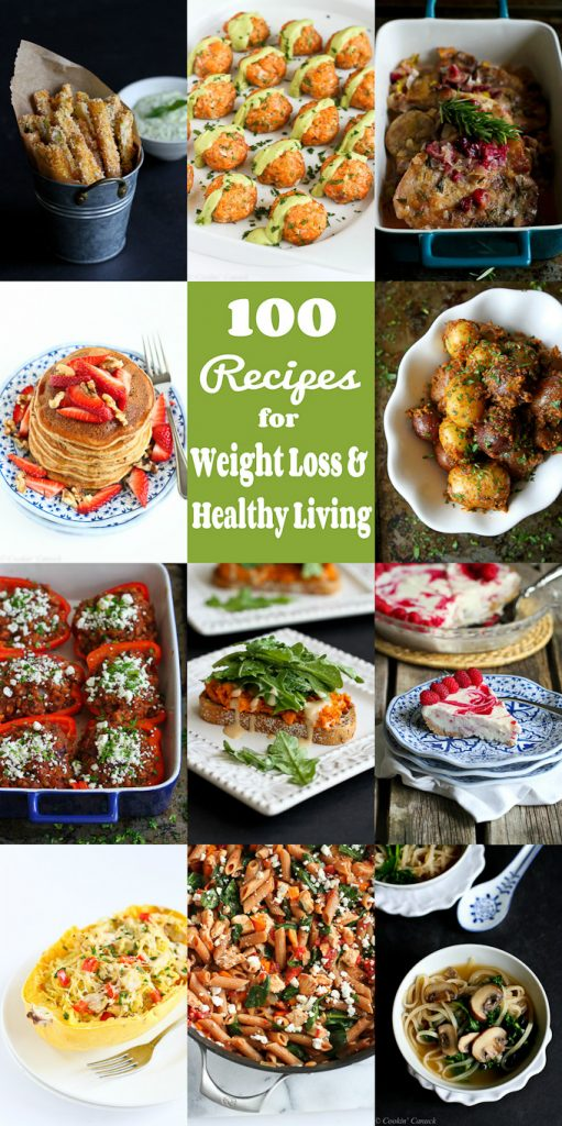 100 Recipes For Weight Loss And Healthy Living In 2016