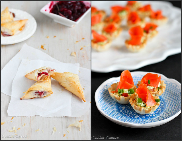 Appetizer Recipes with Phyllo