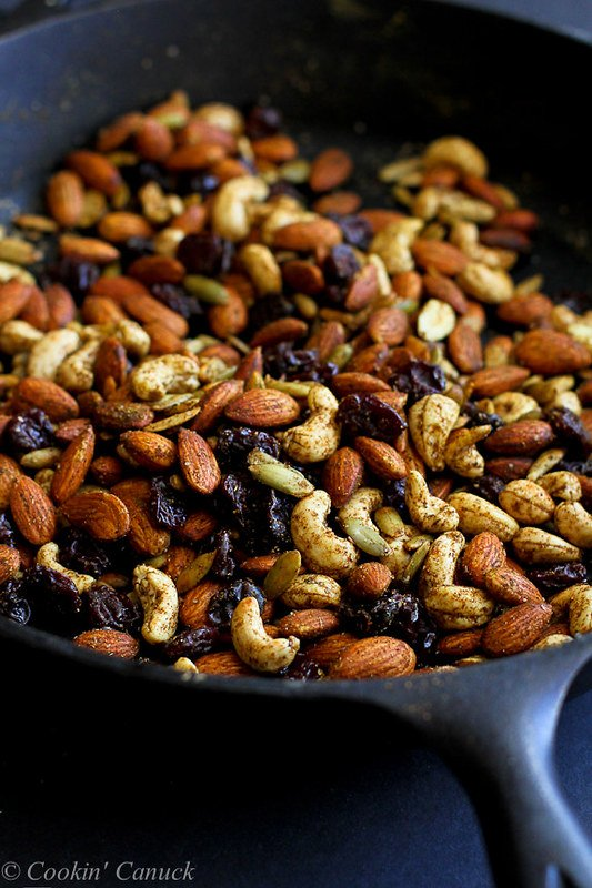 Curry Spiced Nuts