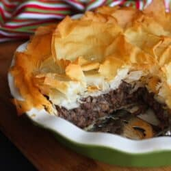 Spiced Meat Phyllo Pie (Tourtière) Recipe