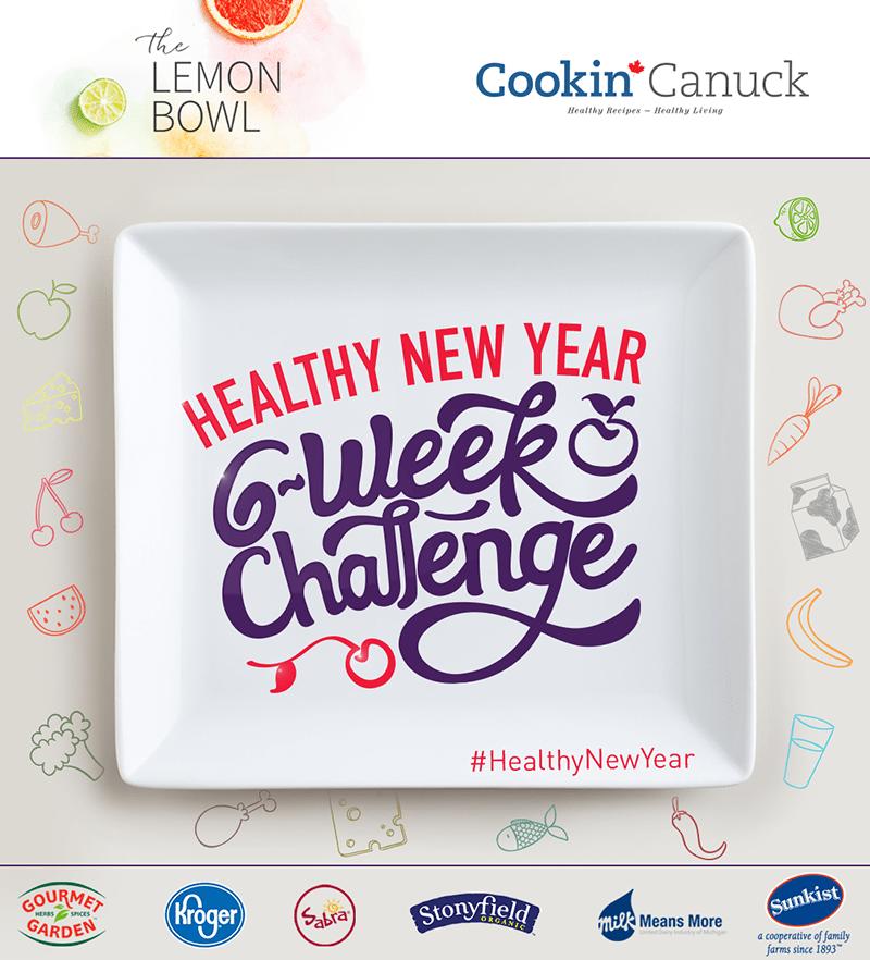 #HealthyNewYear 6-Week Challenge