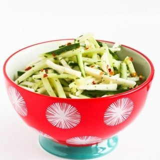 Asian Cucumber & Jicama Slaw Recipe