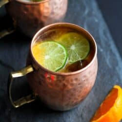 Fresh Orange Moscow Mule Recipe
