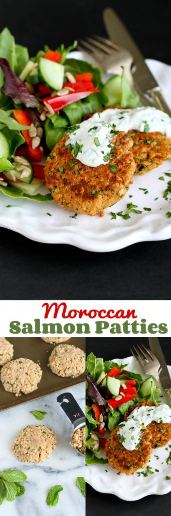 Moroccan Salmon Patties…This economical and classic meal gets an extra kick of flavor from Morpccan-inspired spices! 235 calories and 5 Weight Watchers SmartPoints