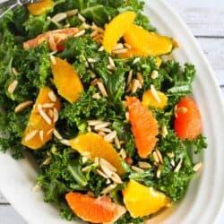 Kale, Toasted Almond & Orange Salad Recipe + 5 Other Salad Recipes