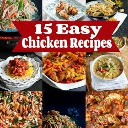 15 Easy Chicken Recipes