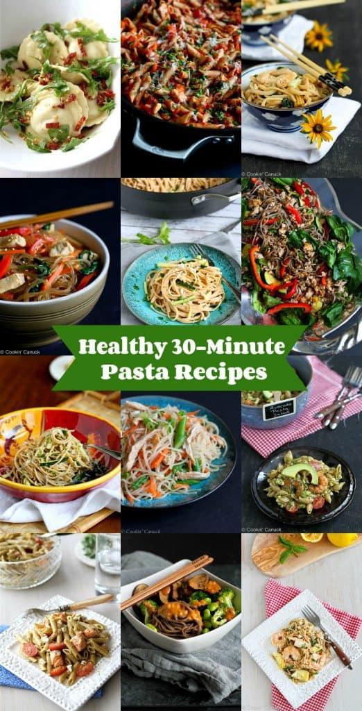 Healthy 30-Minute Pasta Recipes