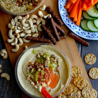 Pesto, Pickled Celery & Hazelnut Hummus Recipe: The Unofficial Meal