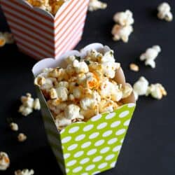 Sriracha Lime Olive Oil Popcorn Recipe