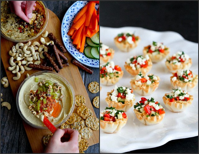 Healthy Appetizer Recipes with Hummus