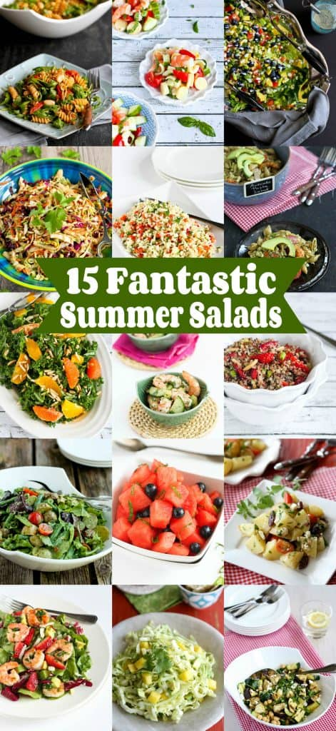 15 Fantastic Summer Salad Recipes