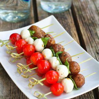Caprese Potato Skewers Recipe