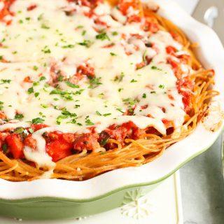 Lightened-Up Spaghetti Pie Recipe