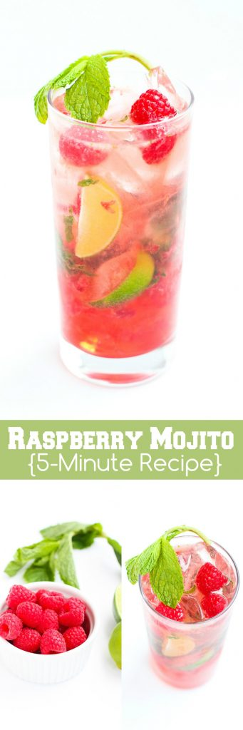 Raspberry Mojitos…Whip up this refreshing take on a classic cocktail in just 5 minutes! 150 calories and 6 Weight Watchers Freestyle SP