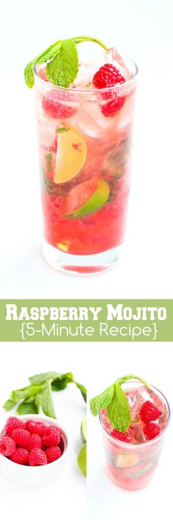 Mojito Recipe. mojito sherbet punch st patricks day recipe. Raspberry ...