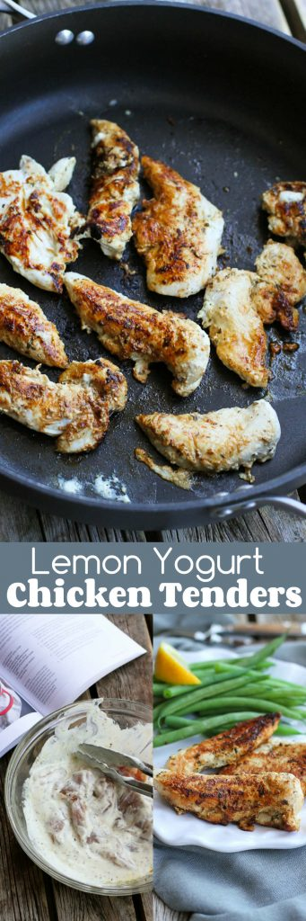 Lemon Yogurt Chicken Tenders…Eat these on their own, use them to top salads or cut up and tossed in pasta! 191 calories and 1 Weight Watchers Freestyle SP