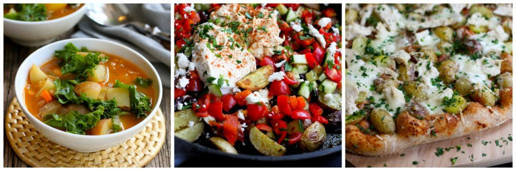 Healthy Recipes with Creamer Potatoes