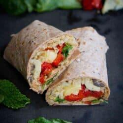 Mediterranean Vegetable Wraps with Freekeh {#VegItUp}