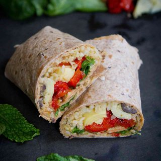 Mediterranean Vegetable Wraps with Freekeh {#VegItUp}