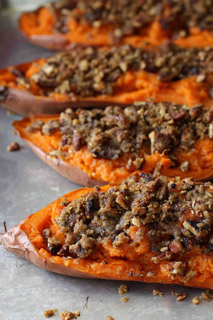 My Best Thanksgiving Recipes and Cooking Tips...Tons of fantastic ideas here (like these Twice-Baked Sweet Potatoes) to make holiday entertaining a breeze!