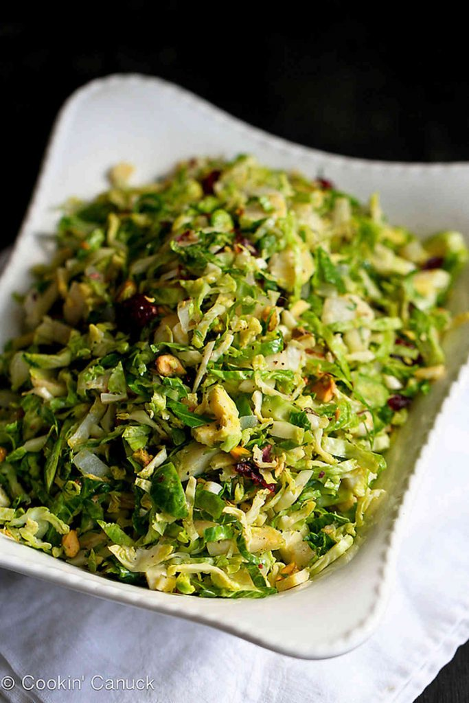 My Best Thanksgiving Recipes and Cooking Tips...Tons of fantastic ideas here (like these Sautéed Brussels Sprouts with Pistachios) to make holiday entertaining a breeze!